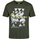 Regatta Fingal III Kortærmet T-shirt Herrer grøn